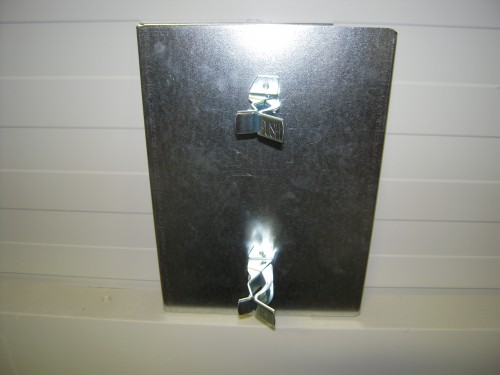 Metalramme med clips