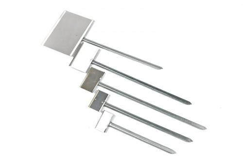 Metal Standetiket