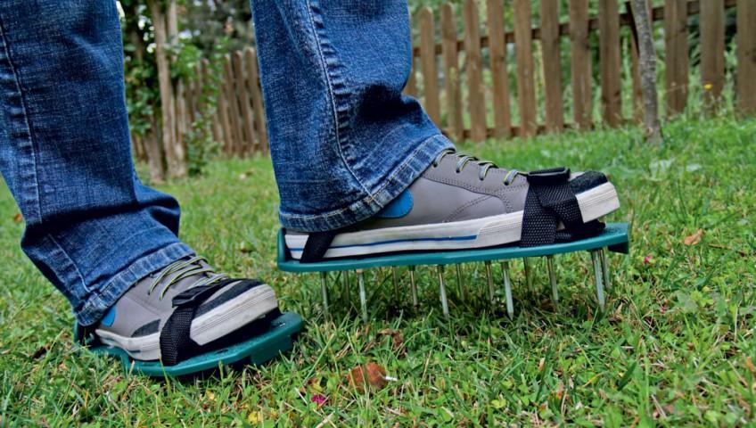 Plænelufter sko